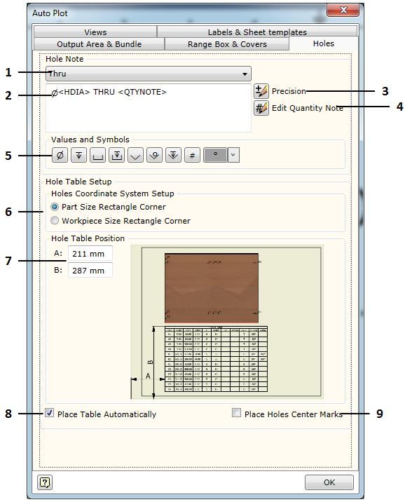 how to set parameters in inventor