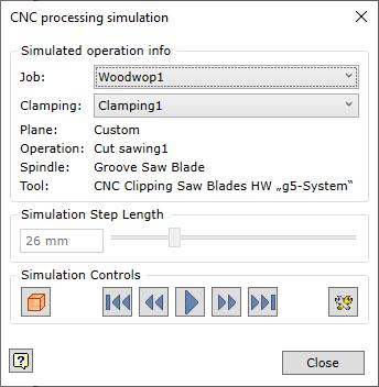 Simulator Main Window
